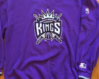 Sacramento Kings Starter crewneck purple sweatshirt extra large