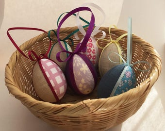 Easter Egg Ornament - Yellow Flower