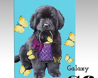 Newfy with Butterflies phone case in many different styles