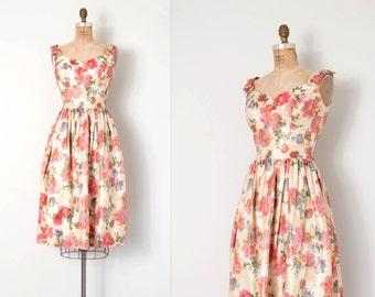 vintage 1960s dress / floral metallic brocade 60s dress / Sparkle Blooms