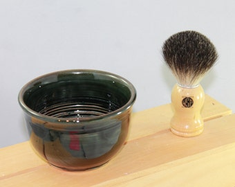 Shave Bowl -- Woodsy Green