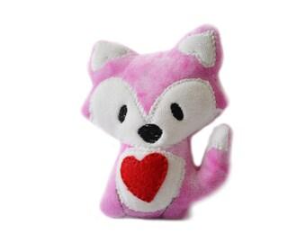 Kawaii Fox | Plush Fox | Stuffed Woodland Animal | Gift for Her | New Baby Gift | Baby Shower Gift | Nursery Decor | Nursery Art | Fox Plush
