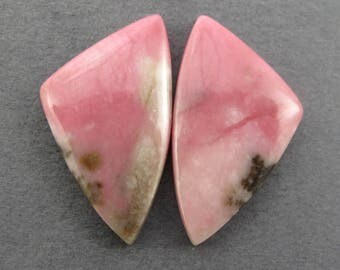 Rare Washington Thulite Cabochon Matched Pair