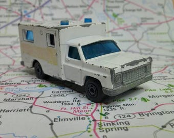 Vintage Matchbox Superfast No 41 Ambulance 1977