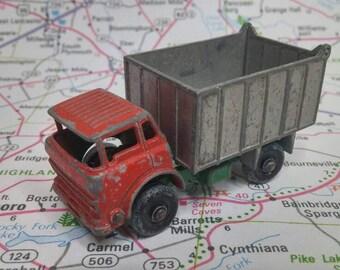 Vintage Matchbox Series No 26 GMC Tipper Truck 1960s