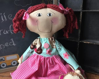Raggedy Annie / Monkey / dress