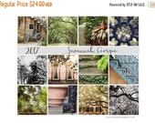 SALE Savannah Georgia, 2017 Desk Calendar, Stocking Stuffer, Travel Photography, 5x7 Loose Leaf Calendar, Hostess Gift, For Her, Gift Under