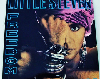 LITTLE STEVEN Vinyl Freedom No Compromise Vintage LP Released 1987 Rock, World Music Aparteid Sun City E Street Band Bruce Springsteen