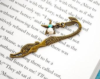 Mermaid Bookmark - Bookmark - Book Club, Book Lover Gift, Teacher Gift, Librarian