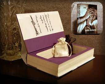 Hollow Book Safe - Life by Keith Richards - Secret Book Safe