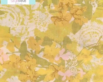 Yellow Vintage and Pink Pillowcase