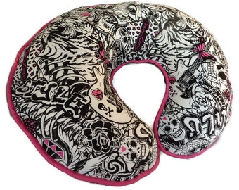 Girls Street Art Nursing Pillow Cover - fits Boppy pillows