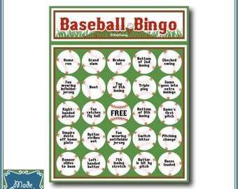 Digital Baseball Bingo
