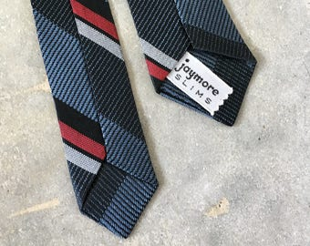 ultra skinny jaymore slims 60s striped tie - 1211388