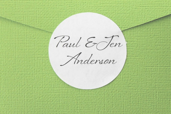 Wedding Stickers, Couple, Wedding Favor Stickers, Personalized Wedding Favor Labels