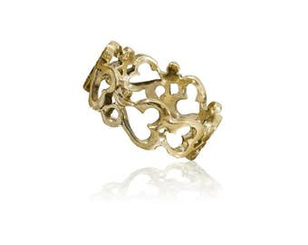 Brass Ring, Ohm Ring, Charm Ring, Charm Jewelry, Unisex Ring, Ethinc Jewelry, Yoga Jewelry, Spiritual Jewelry, Om Ring