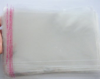 100 Cellophane bags - self sealing and resealable BAG6