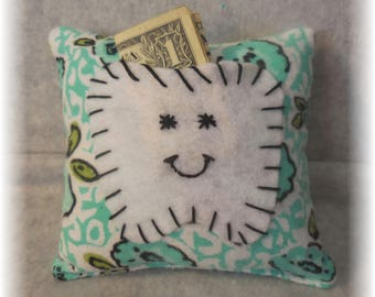 Tooth Fairy Pillow Handmade Tooth Pillow Tooth Holder Tooth Fairy Pillows