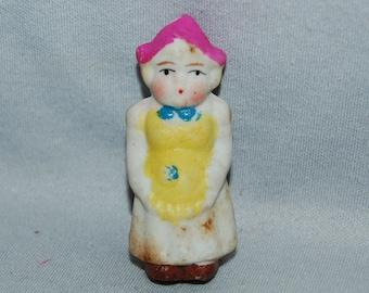 Vintage / Bisque / Doll / dutch girl / frozen charlotte / penny doll / Vintage dolls