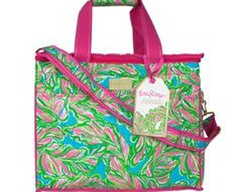 Lilly Pulitzer Monogrammed Cooler