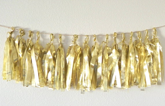 Guilded Tassel Garland