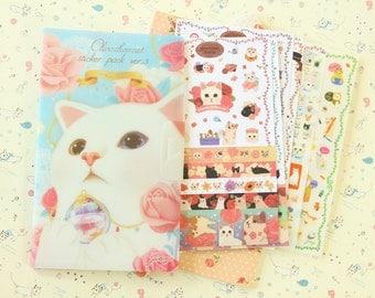 Choo Choo Cat DIARY DECO sticker pack version 3