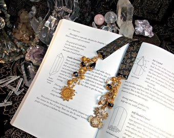 Beaded Bookmark - OWL