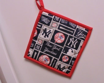 Pot Holder, Insulated Pot Holder, MLB Hot Pot Trivet, New York Yankees