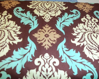 Aviary 2 by Joel Dewberry Damask in Bark - 1 yard