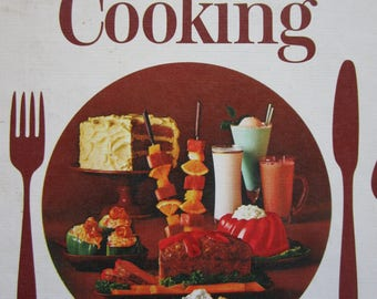 Vintage 1966 Cookbook Modern Approach to Everyday Cooking Spiral Bound with Plastic Stand Attachment