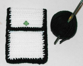 Crochet Hook Organizer..Handmade/Hand Crocheted..St. Patrick's Day..Crochet Hook Caddy..Gift For Her