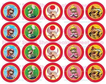 Super Mario Bros Circles PDF file (Version 2)