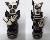 Day of the Dead Voodoo Doll Horror Art Doll Horror Doll