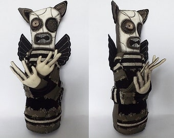 Day of the Dead Voodoo Doll Horror Art Doll Horror Doll