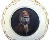 """ON SALE Sir Anthony Rossi of Gorillini Plate 6"""""""