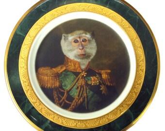 "Prince Primate II Portrait Plate 6.9"""