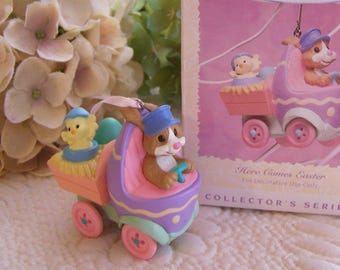 Vintage Here Comes Easter Third in Series Truck 1996 Hallmark Easter Ornament Spring Collection