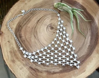 Vintage Chainmaille Necklace