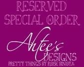 Custom Order- AMY