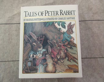 vintage Tales of Peter Rabbit-  miniature book, Beatrix Potter, Running Press, 1991