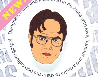 The Office - Dwight Schrute Pin