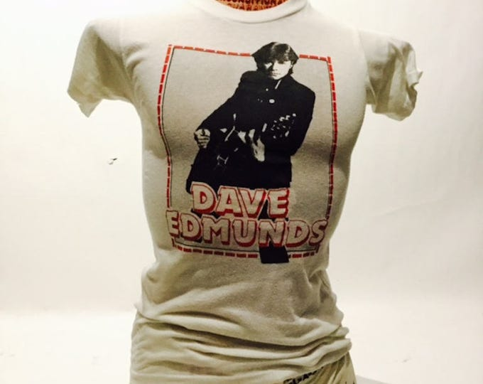 Vintage Dave Edmunds 70's Tee Shirt (ds-ts-20)