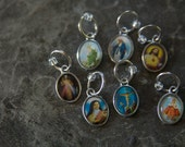 Religious Charm Stitch Markers