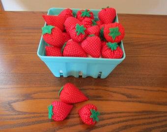 Felt Food, Strawberries