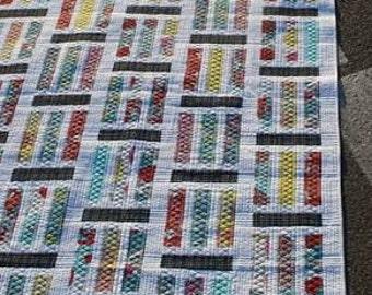 Traffic from Jaybird Quilts - Modern Quilt Pattern