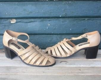 90 Chunky Woven Sandal 7/ 7.5 (Deadstock)