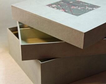 Jewellery / Artist box grey green