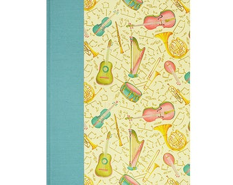 Baby  Keepsake Memory Book In Tune