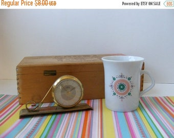 20% OFF MOVING SALE Vintage Atomic Cup, Starburst Cup, Bavaria Germany, Demitasse, Espresso, Small Coffee Cup
