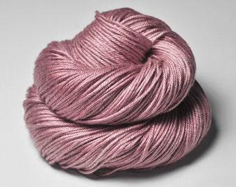 Grandma's lost shawl OOAK - Silk/Merino DK Yarn superwash